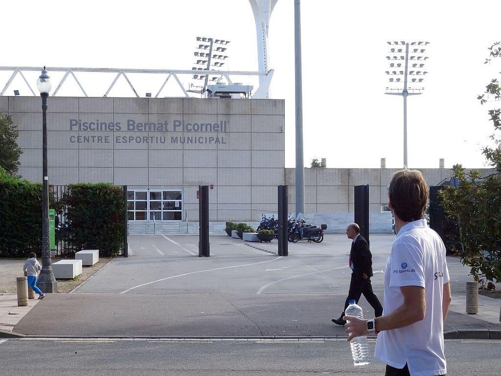 Bernat Picornell Barcelona Montjuic